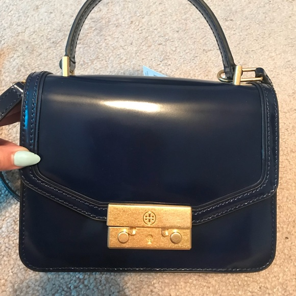 fb183cf9268 Tory Burch Juliette mini top handle satchel